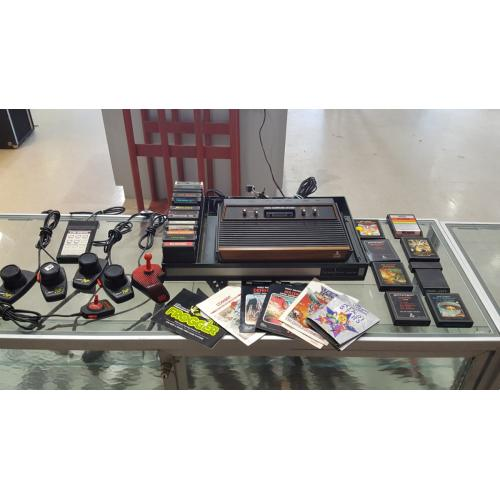 Atari 2600 Game System with 22 Games