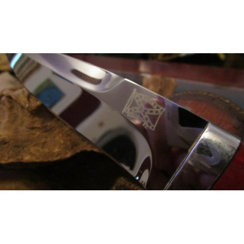 Walter Brend custom made Knife Mirror Hi-Polished Blade Serial 002