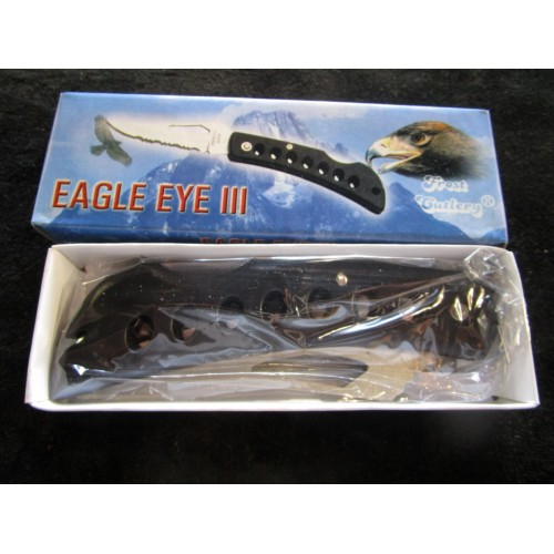 Eagle eye III folding lockback knife